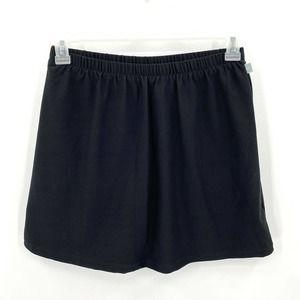Nike Black Stretch Tennis Athletic Skort Skirt M